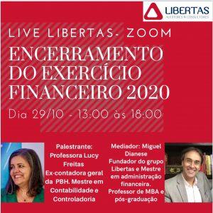 Participem – Live Libertas – Encerramento do Exercício –  dia 29/10/2020